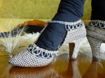 19 antique rhinestone shoes 1920