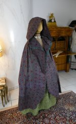 2 antique hooded cape 1790
