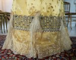 8 antique ball gown 1895