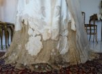 18 antique evening dress WORTH 1898