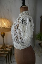 6 antique lace blouse 1916