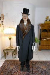 antique mens coat Herman Hoffmann 1925