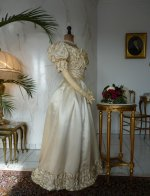 19 antique ball gown 1892