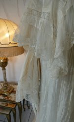6 antique dressing gown 1890