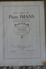 6 antique pierre Imans catalogue 1900