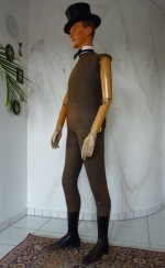 3 antique male mannequin