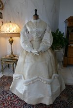 2 antique wedding dress 1876