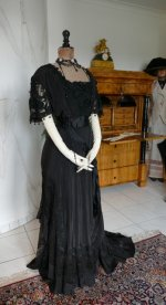 15 antique Drecoll dress 1906