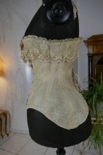7 antique corset 1880