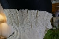 15 antique silk corset 1901