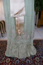 34 antique Jeanne Halle dress 1912