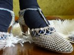11 antique rhinestone shoes 1920