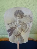 5 antique sport fans 1902