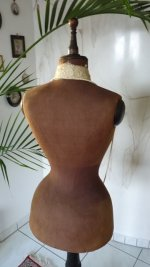 6 antique mannequin
