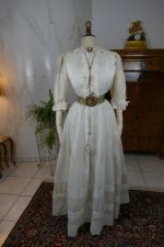 2 antique summer dress 1904