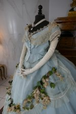 18 antique victorian ball gown 1859