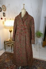 2 antique Mens dressing coat 1865