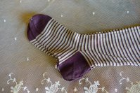 3 antique socks 1900