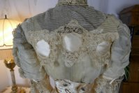 24 antique ball gown 1900