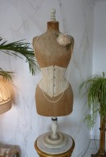 2 antique underbust corset 1900