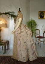 18 antique Ball gown 1880