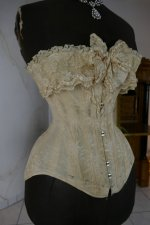 4 antique corset 1880