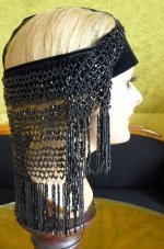19 antique flapper headpice 1920