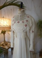 4 antique wedding dress 1910