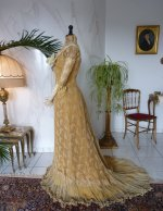41 antique evening dress 1910