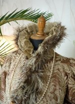 4a antique opera coat