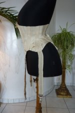 16 antique wedding corset 1885
