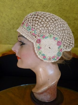 antique boudoir cap