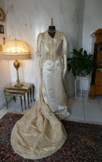36 antique court dress 188