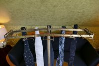 9 antique tie rack 1920