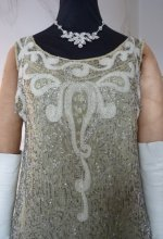 11 antique flapper dress 1925