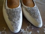 5 antique wedding shoes 1908