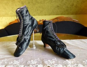 antique lace up boots 1867