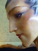 21 antique wax mannequin 1920