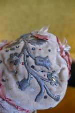 9 antique baby bonnet 1760