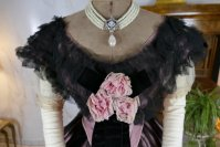 1 antique crinoline ball gown 1855