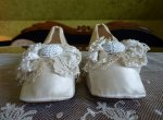 3 antique wedding shoes 1855