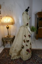 31 antique bustle dress 1880
