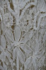 8 antique ALTMANN Battenburg lace dress 1904