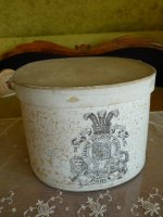 5 antique hat box