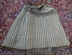 21 antique Biedermeier petticoat 1830
