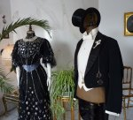3 antique ball dresses