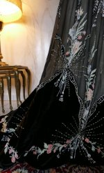 16 antique Gustave Beer gown 1906