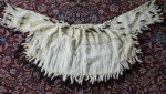 21 antique ermine cape