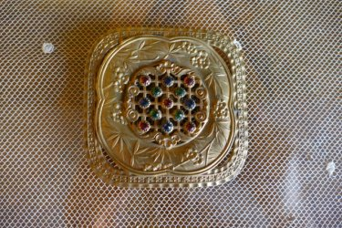antique belt buckle 1901