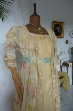 8 antique belle epoque negligee